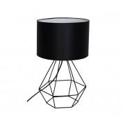 Lampă de masă ALMA 1xE27/60W/230V negru