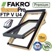 Fereastra mansarda cu 3 sticle Fakro FTP-V U4 Argon