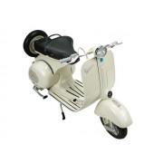 Miniatura moto Vespa 1955 beige escala 1:6