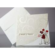 Invitatie nunta cod 34929