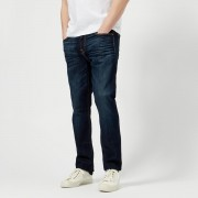 7 For All Mankind Men's Slimmy Airweft Denim Jeans - Commotion - W32/L34 - Blue