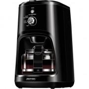 Cafetiera cu rasnita MPM MKW-04, 900 W, 0.6 L, Negru