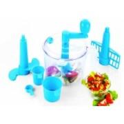 Vivir Advance Dough Maker, Vegetable Chopper ( 2 in1 - Chop and Churn) - Blue 250 W Food Processor(Blue)