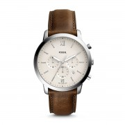 Часовник FOSSIL - Neutra Chrono FS5380 Brown/Silver