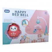 Ladida Fjärrstyrd Sängmobil Happy Bed Bell - Rosa