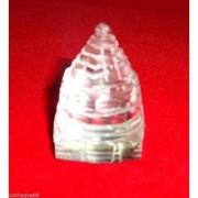 Astrology Goods Shri Yantra (carved In Crystal) - Crystal 180 Gram