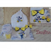 Trusou botez biserica, tema Mickey Mouse, include 9 piese