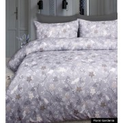 Floral Gardenia Printed Quilt Cover Set