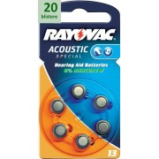 Rayovac 13 Acoustic Special - 20 blistere