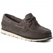 Мокасини TIMBERLAND - Camden Falls Suede Boat A1P8A B Gunmetal