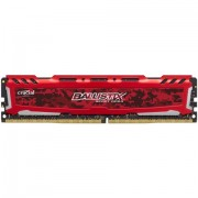 DDR3, 8GB, 2400MHz, Crucial Ballistix Sport LT, Unbuffered, CL16 (BLS8G4D240FSEK)