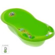 Cadita Piscot 102 Cm Safari Cu Senzor De Temperatura - Tega Baby - Verde