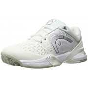 Head Women s Revolt Pro Tennis Shoe White/Silver 6 B(M) US