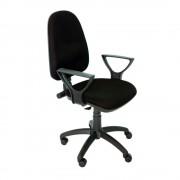 Scaun ergonomic Violeta B, stofa, negru