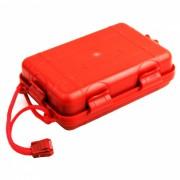 SOS - Caja de primeros auxilios para ciclistas de viajes al aire libre - Rojo