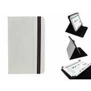 Uniek Hoesje voor de Hip Street Titan 7 Inch - Multi-stand Cover, Wit, merk i12Cover
