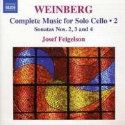 M. Weinberg - Cello Solo Sonata No.2-4 (0747313228171) (1 CD)