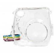 Bolso de cuero de la caja de la cámara de Instax de la PU para la cámara de Fujifilm Instax Mini 7s 7c