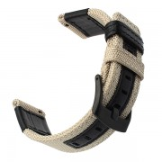 Durable Nylon Watch Band Strap for Huawei Watch GT - Beige