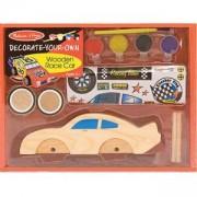Комплект Направи си сам Дървена кола - 12370 - Melissa and Doug, 000772123709