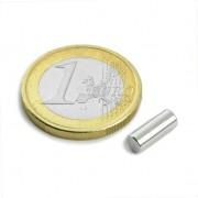 Magnet neodim cilindru, diametru 4 mm, putere 600 g