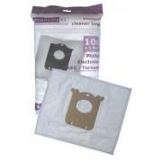 AEG E201B sacchetti raccoglipolvere Microfibra (10 sacchetti, 1 filtro)