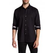 Robert Graham Windsor Woven Regular Fit Shirt BLACK