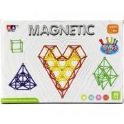Teddies Magnetická stavebnice 99 dílků