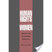 Human Rights of Women - National and International Perspectives (Cook Rebecca J.)(Paperback) (9780812215380)
