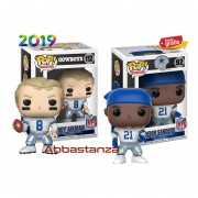 Set Troy Aikman y Deion Sanders Funko Pop NFL Football
