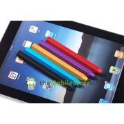 Aluminum Pencil Capacitive Stylus Penna (Svart)