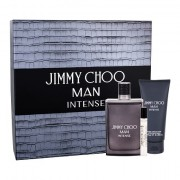 Jimmy Choo Jimmy Choo Man Intense confezione regalo eau de toilette 100 ml + eau de toilette 7,5 ml + balsamo dopobarba 100 ml per uomo