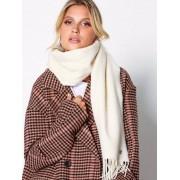 Lauren Ralph Lauren Cashmere Staple Wrap Halsdukar & Scarves Ivory