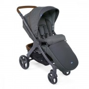 Carucior copii Chicco Duo Style Go Up Crossover Cool Grey 0luni+