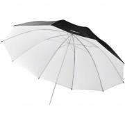 Reflex Umbrella negru / alb, 84cm (17657)