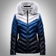 Toni Sailer Women's Jacket Emily Splendid Fur dark sky