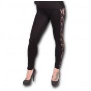 pantalon pour femmes (caleçons longs) SPIRAL - Gothic Elegance - P001G455