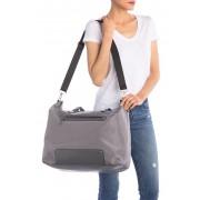 Madden Girl Overnighter Tote Bag GREY