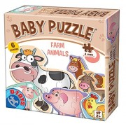 Farm Animals Baby Puzzles, A Puzzle Assortment By D Toys