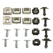 Meco Set Undertray Guard Engine Cover Fixing Fitting Clips Screws Kit For AUDI A4 A6