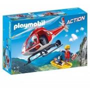 Helicoptero Playmobil Rescate En La Montaña - 9127