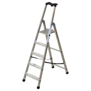 Facal Stufenstehleiter QUADRA S300 Aluminium 4 Stufen