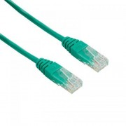 Cablu UTP 4World Patch cord neecranat Cat 5e 10m Verde