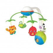 Bright Starts Musical Mobile Soothing Safari Multicolour K8352