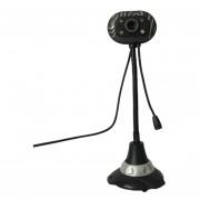 Cámara giratoria práctico HD Webcam Cámara USB para grabación de vídeo