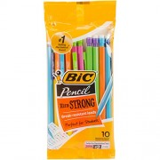 Bic Xtra Strong Mechanical Pencils 10 Per Package - Assorted Barrles (Pack of 3 )