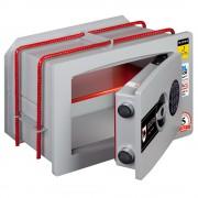 Seif de incastrat in perete inchidere electronica Planet Safe W.2319.E 230x350x190mm