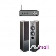 Pachet Amplificator Receiver Yamaha WX-A50 + Boxe Indiana Line Nota 550 X