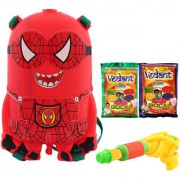 DealBindaas Holi Water Pichkari BACK PACK Tank Squirter 528A With Gulal Assorted Color