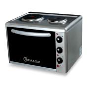 Мини готварска печка Eldom 203VFB, обем 38 л, Клас А, Инокс